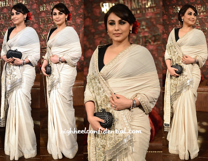 Rani Mukherjee At Sabyasachi's Show During India Couture Week 2014-1