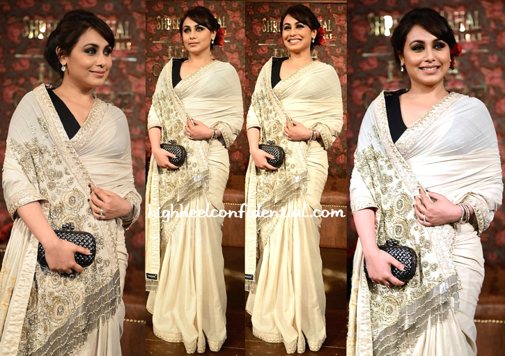 Rani Mukherjee At Sabyasachi's Show During India Couture Week 2014-2