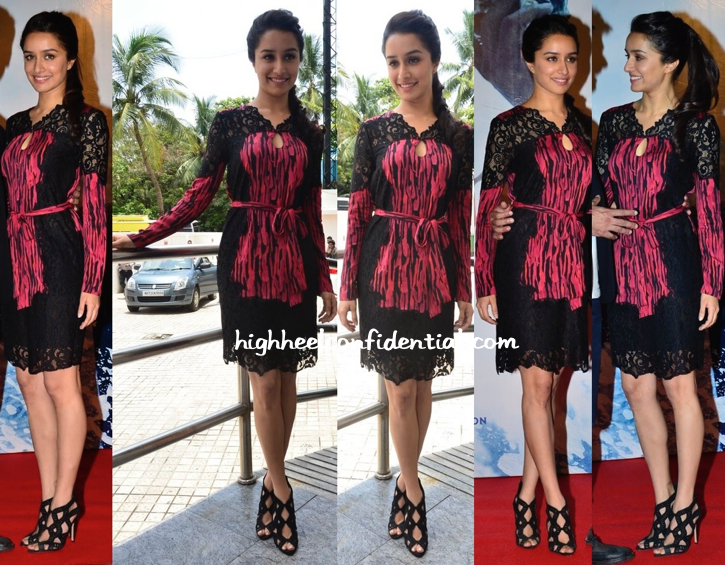 Shraddha Kapoor At 'Haider' Trailer-First Look Launch