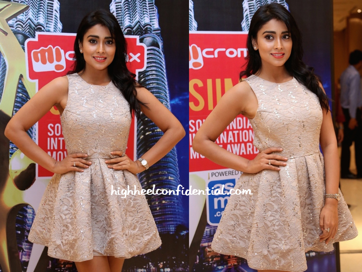Shriya Saran At SIIMA Awards 2014 Curtain Raiser-Press Meet-1