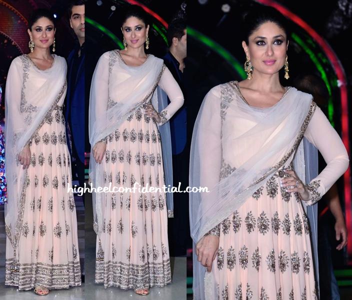 Wearing Manish Malhotra, Kareena Kapoor Promotes Singham Returns On Jhalak Dikhhla Jaa Sets-1