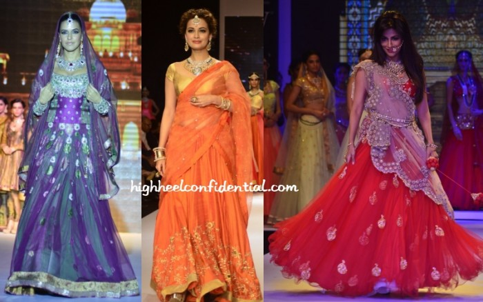 neha-dia-chitrangda-iijw-2014-day-one