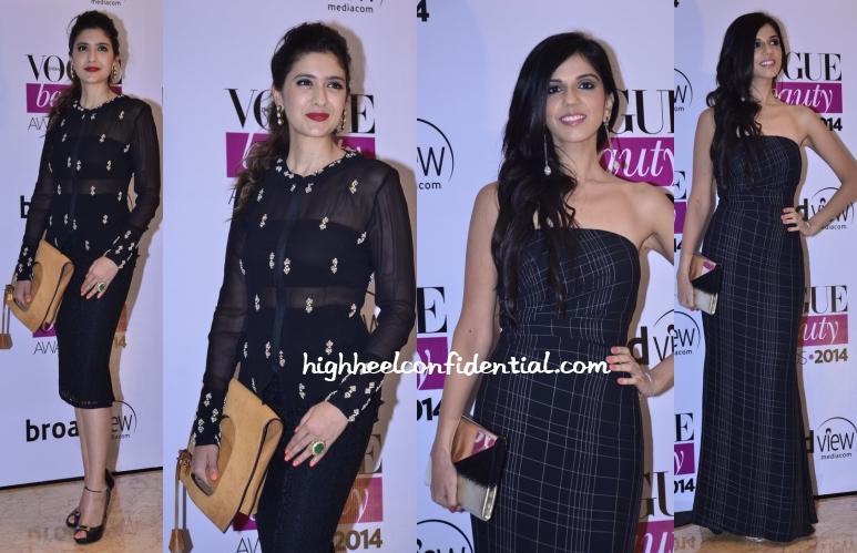 pooja-makhija-nishka-neeta-lulla-vogue-beauty-awards-2014