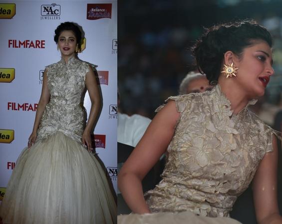 shruti-haasan-gaurav-gupta-filmfare-awards-2014-south