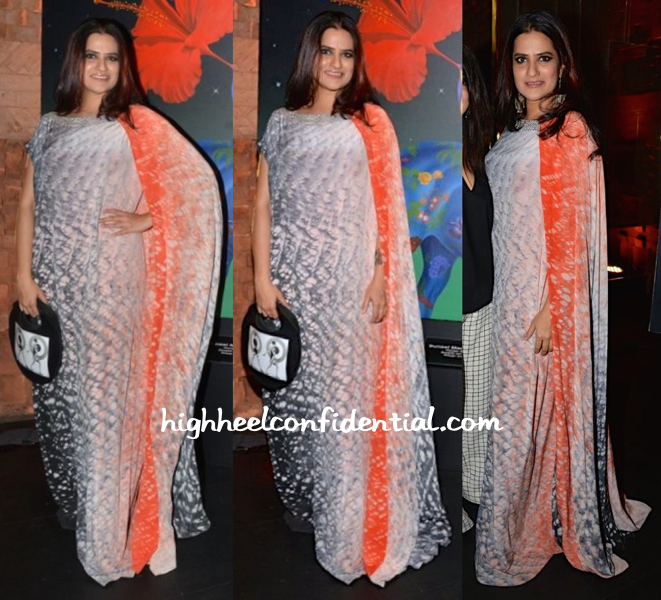 sona mohapatra in sailex At 'In an Artist's Mind V', An Art Exhibit