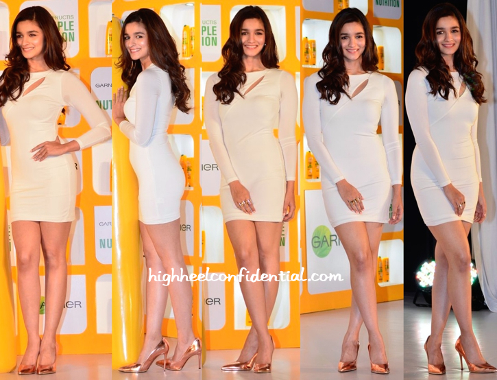 Alia Bhatt In Arden B And Givenchy At Garnier Product Launch Event-1