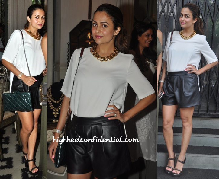 Amrita Arora In Topshop At 'Bespoke Vintage' Launch