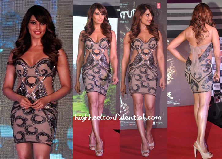 Bipasha Basu Wears Reve By Khushali Kumar To Creature 3D Music Launch-1