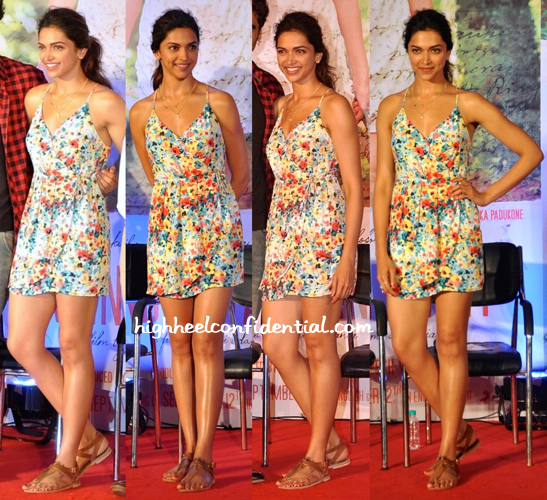 Deepika Padukone Wears Forever 21 To A Song (From 'Finding Fanny') Launch-2
