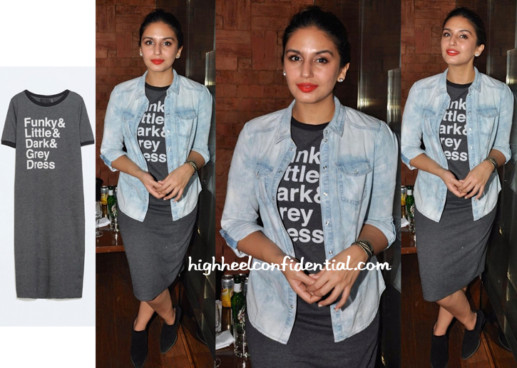 Huma Qureshi In Zara At China House Relaunch