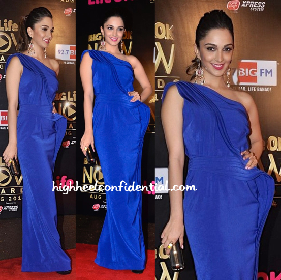 Kiara Advani In Jatin Varma At Life OK Awards 2014-1