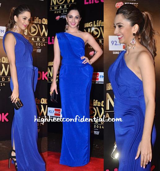 Kiara Advani In Jatin Varma At Life OK Awards 2014-2
