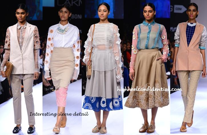 Lakme Fashion Week Winter-Festive 2014- Frou Frou By Archana Rao-1