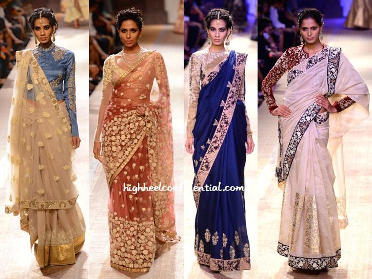 Lakme Fashion Week Winter:Festive 2014- Anju Modi-2