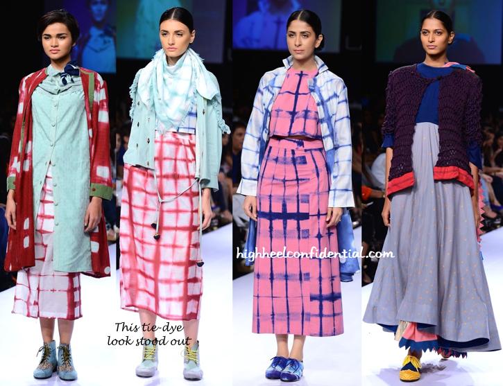 Lakme Fashion Week Winter:Festive 2014- Ka Sha By Karishma Shahani -1