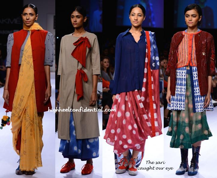 Lakme Fashion Week Winter:Festive 2014- Ka Sha By Karishma Shahani -2