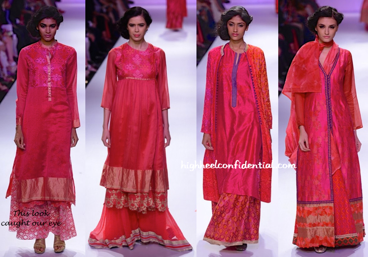 Lakme Fashion Week Winter:Festive 2014- Krishna Mehta-1