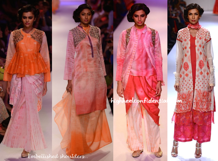 Lakme Fashion Week Winter:Festive 2014- Krishna Mehta-2