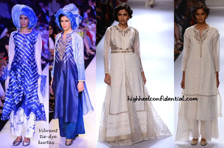 Lakme Fashion Week Winter:Festive 2014- Krishna Mehta-3