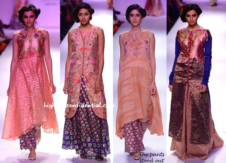 Lakme Fashion Week Winter:Festive 2014- Krishna Mehta-4