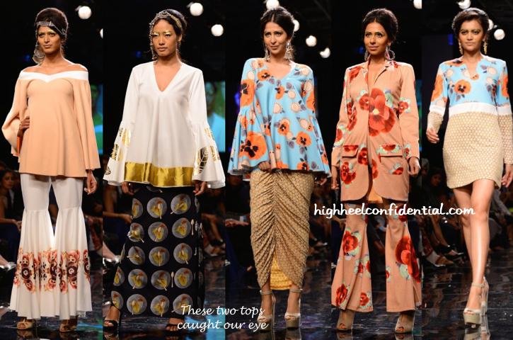 Lakme Fashion Week Winter:Festive 2014- Masaba-1