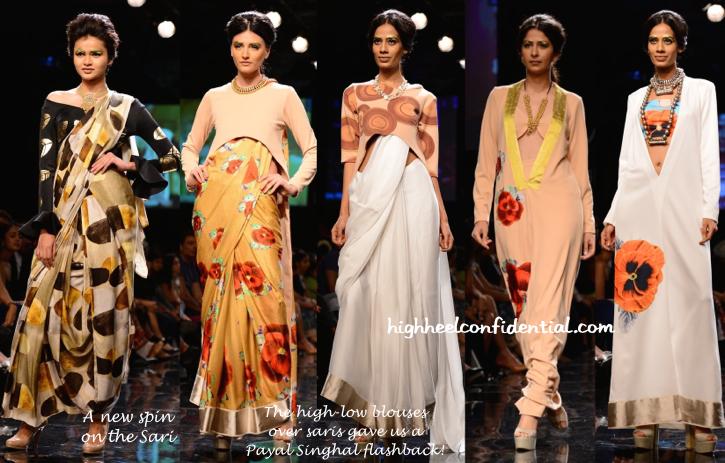 Lakme Fashion Week Winter:Festive 2014- Masaba-3