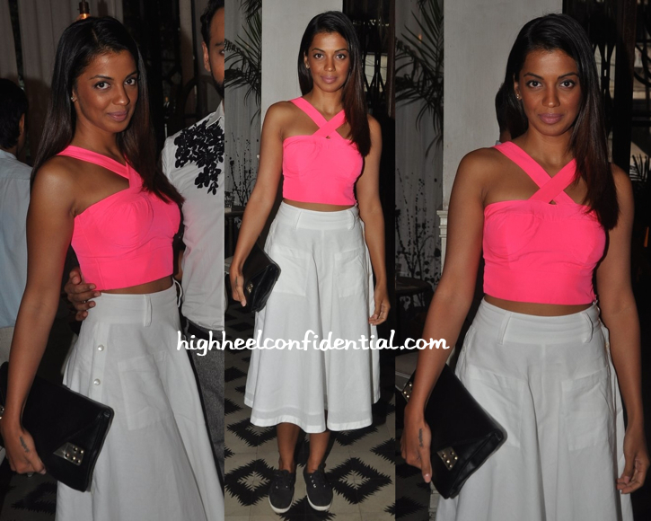 Mugdha Godse In Global Desi And FabIndia At 'Bespoke Vintage' Launch