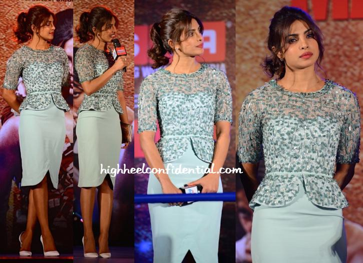 Priyanka Chopra In Rachel Gilbert At 'Mary Kom' Music Launch-1