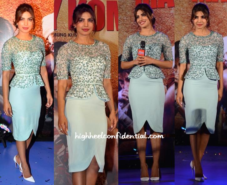 Priyanka Chopra In Rachel Gilbert At 'Mary Kom' Music Launch-2