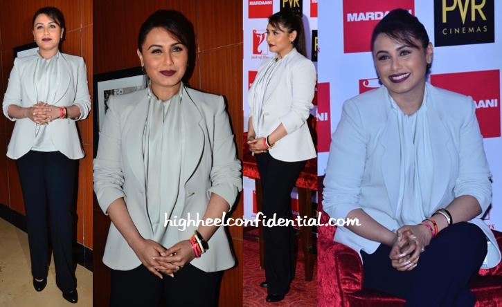 Rani Mukherjee At 'Mardaani' Press Meet-1