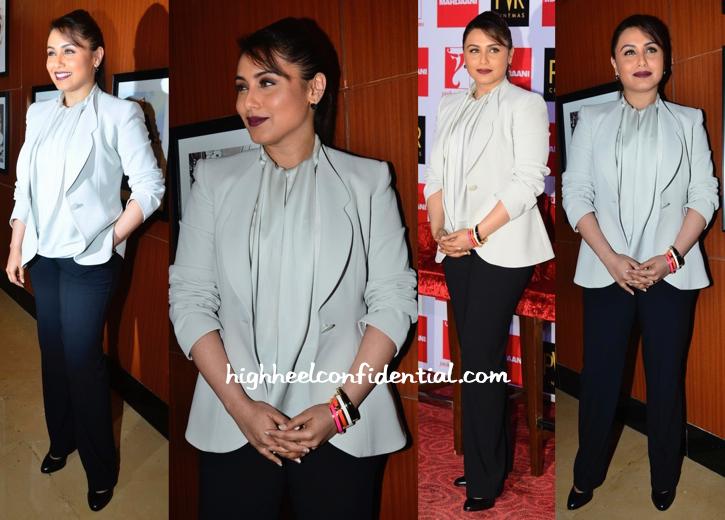 Rani Mukherjee At 'Mardaani' Press Meet-2