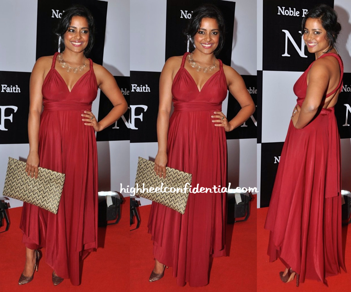 Shahana Goswami At A Recent Fashion Label Launch