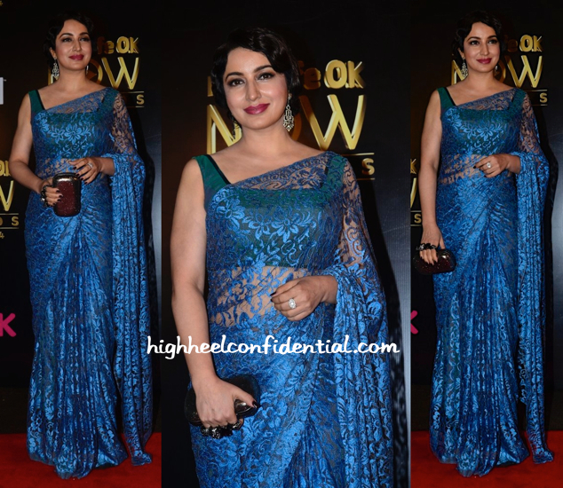 Tisca Chopra At Life OK Awards 2014-1