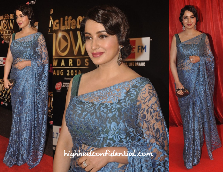 Tisca Chopra At Life OK Awards 2014-2