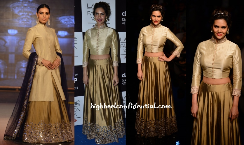 esha-gupta-manish-malhotra-lakme-fashion-week-2014