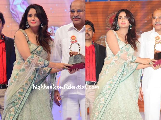 parul-yadav-tarun-tahiliani-santosham-awards-2014-1