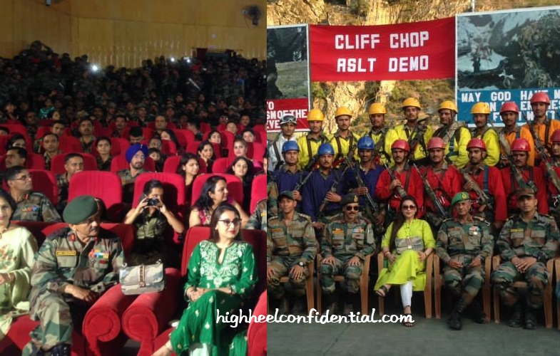 rani-mukherjee-valentino-camouflage-mardaani-promotions-army-1