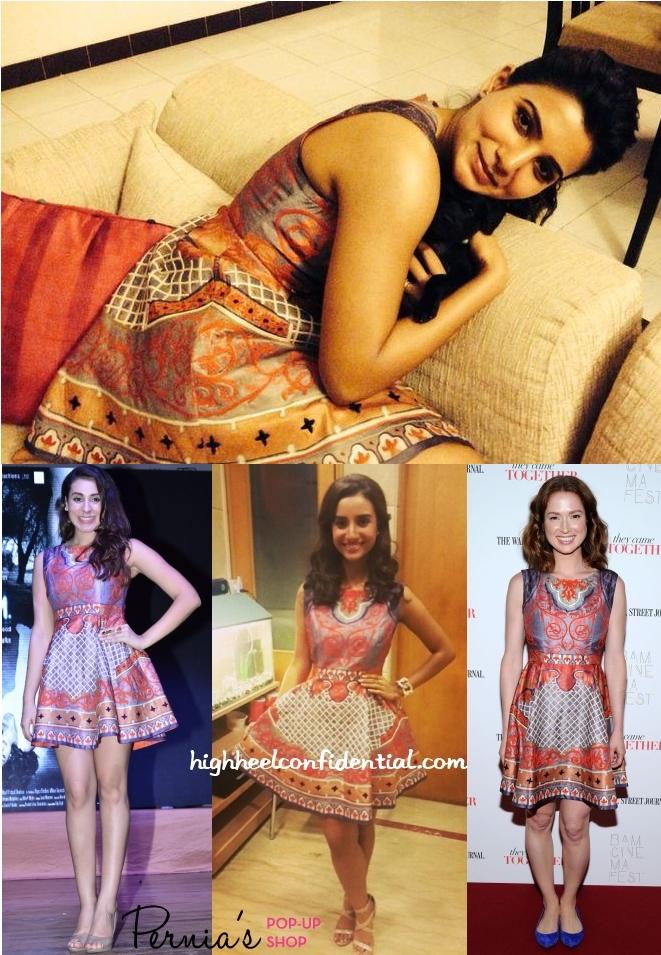 samantha-prabhu-pankaj-nidhi-dress-anindita-patralekha-ellie