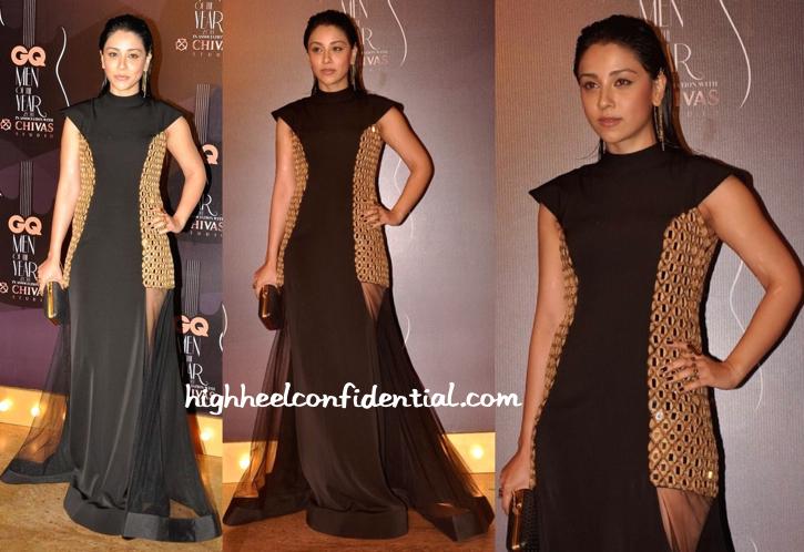Amrita Puri At GQ Awards 2014