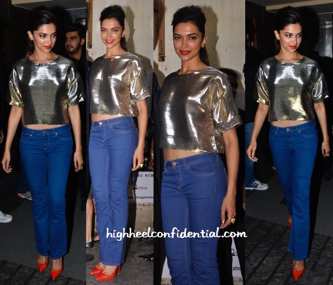 Deepika Padukone In Monisha Jaising At 'Finding Fanny' Screening-2