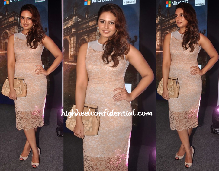Huma Qureshi Wears Koovs To Indian Express Social Media Event