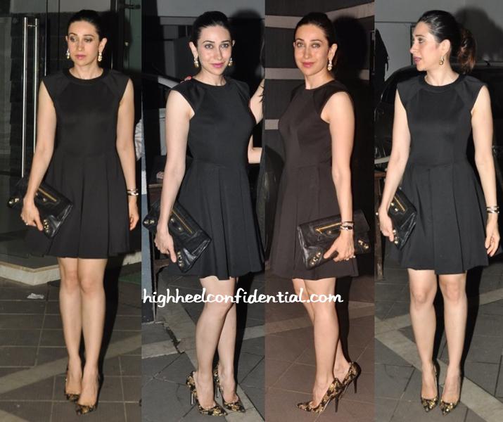 Karisma Kapoor At Sanjay Kapoor's Party