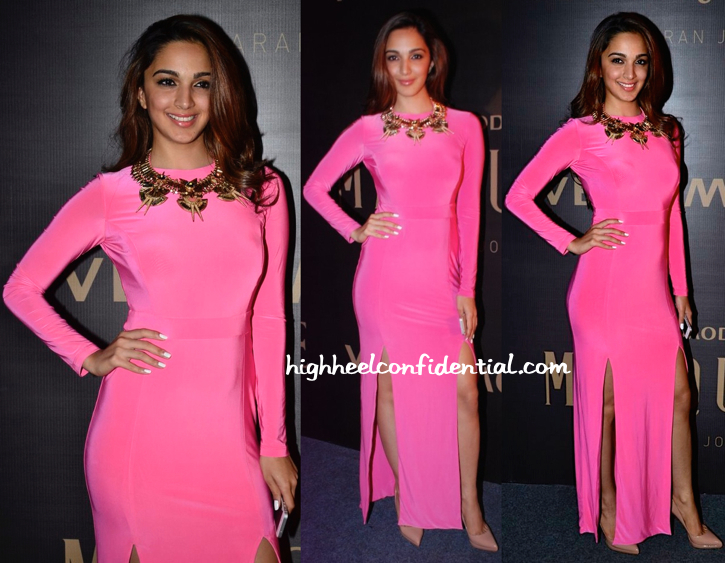 Kiara Advani In River Island And Outhouse At Marquee By Karan Johar For Vero Moda Launch