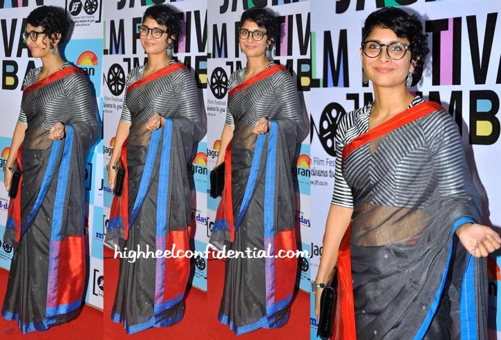 Kiran Rao At 5th Jagran Film Festival Party In Raw Mango