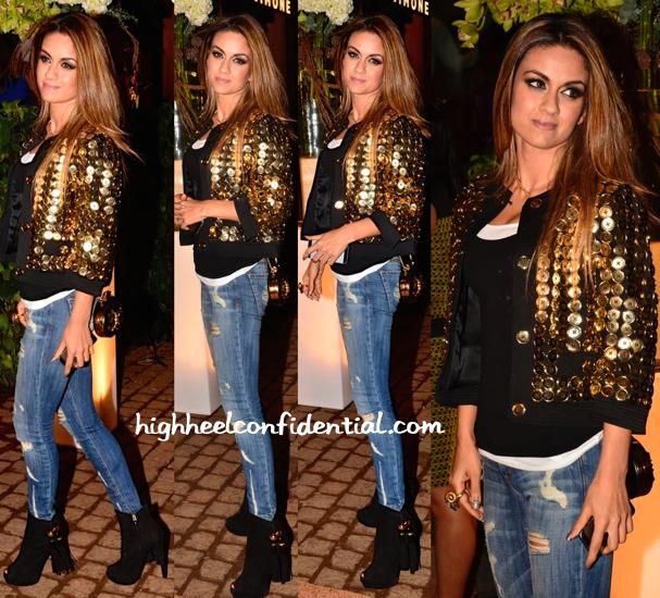 Natasha Poonawala In Moschino At Simone Store Launch-1