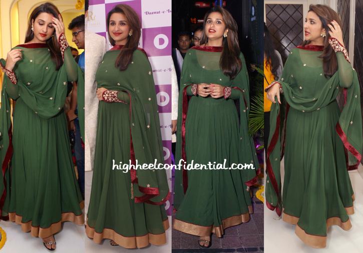 Parineeti Chopra In Diva'ni At Daawat-E-Ishq Promotions-1