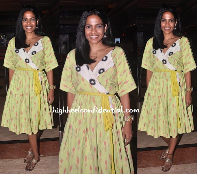 Priyanka Bose In Nor Black Nor White At Jagran Film Festival