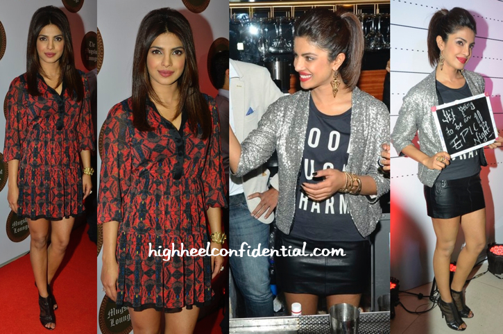 Priyanka Chopra In Alice + Olvia, Alexander Wang And Zara At Opening Of Mugshot Lounge-1