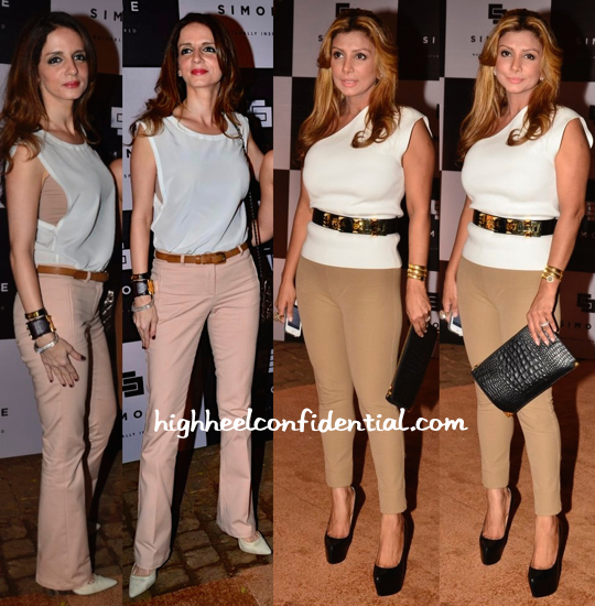 Ramona Narang And Sussanne Khan At Simone Store Launch-1