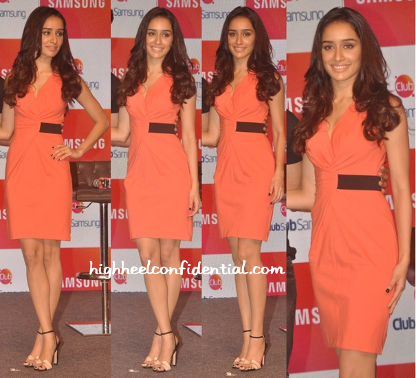 Shraddha Kapoor In Kenneth Cole At Samsung Launch (Also Previously Seen On Tara Sharma)-2